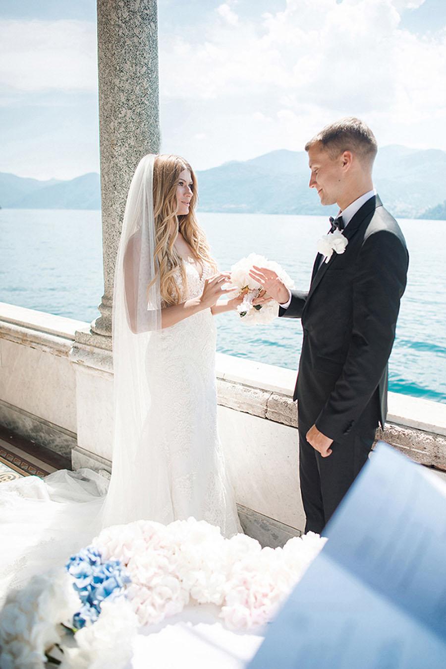 Wedding on lake Como. Wedding in Italy