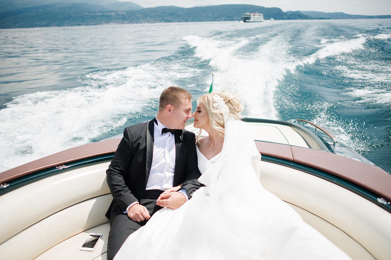 Wedding in Italy. Lake Garda